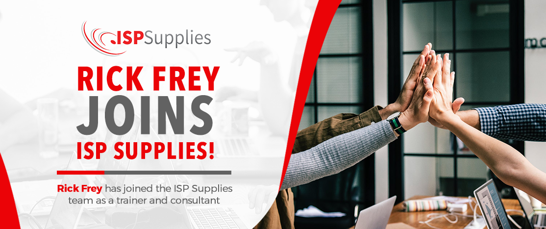 Rick Frey Joins ISP Supplies